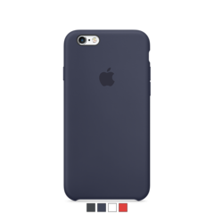 Funda de silicona Apple para iPhone 6 y 6s