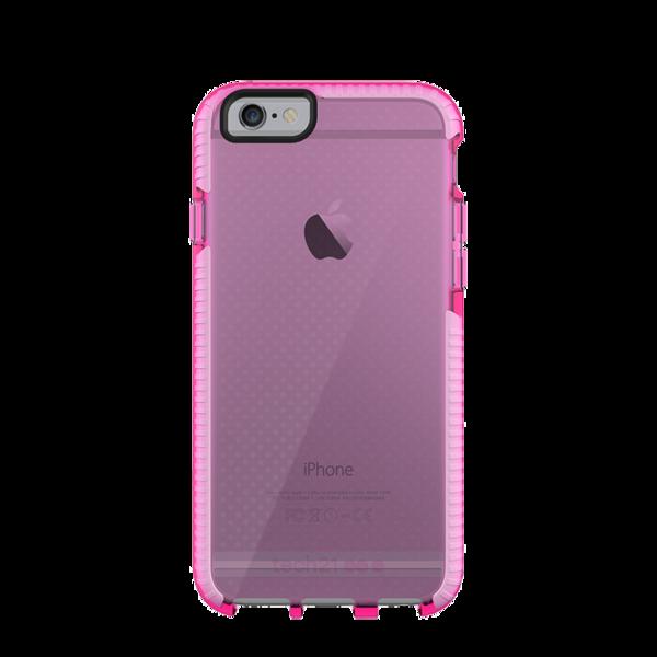 Funda dura Tech21 Evo Mesh para iPhone 6/6s Rosa