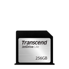 "Extensión de memoria Flash 256 GB para MacBook Air 13"" Transcend JetLite 130"