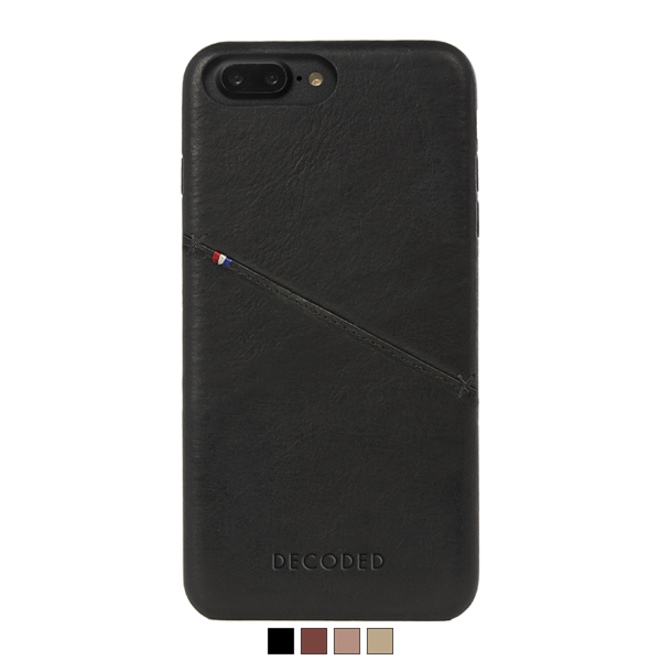 Funda de cuero Decoded Snap-On para iPhone 8 Plus / 7 Plus