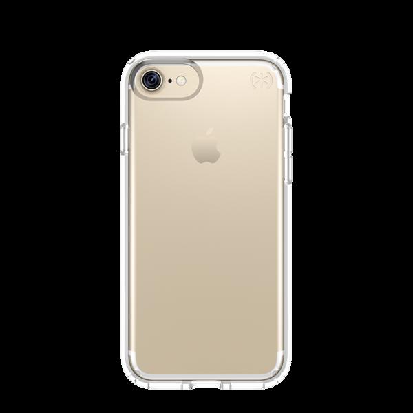 Funda Speck Presidio Clear para iPhone 8 / 7