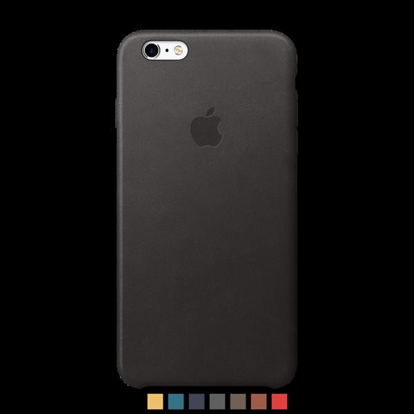 Funda de cuero Apple para iPhone 6 Plus y 6s Plus