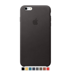 Funda de cuero Apple para iPhone 6 Plus y 6s Plus