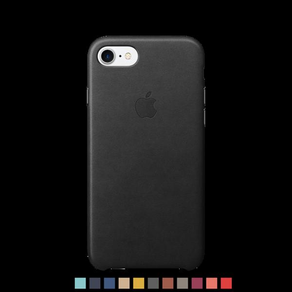 Funda de cuero Apple para iPhone 7