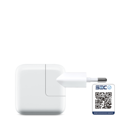 Cargador Apple USB de 12W para iPad