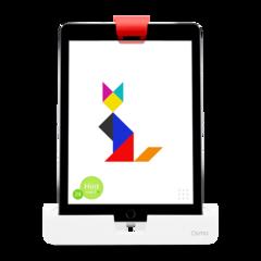 Sistema de juegos interactivos Osmo Genius Kit para iPad