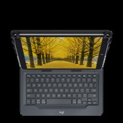 """Funda con teclado universal Logitech para tablets de hasta 10,5"""""""