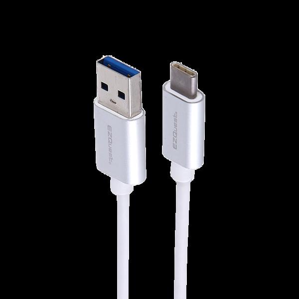 Cable USB-C a USB-A EZQuest de 1 mt