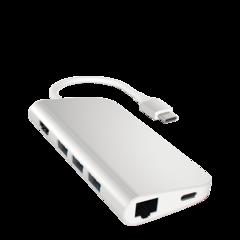 Adaptador multipuerto USB-C con Ethernet Satechi