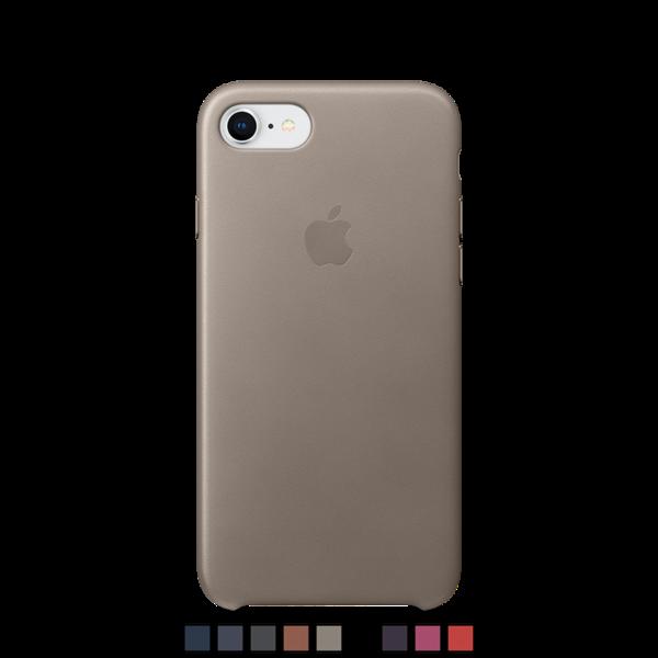 Funda de cuero Apple para iPhone 8