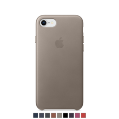 Funda de cuero Apple para iPhone 8