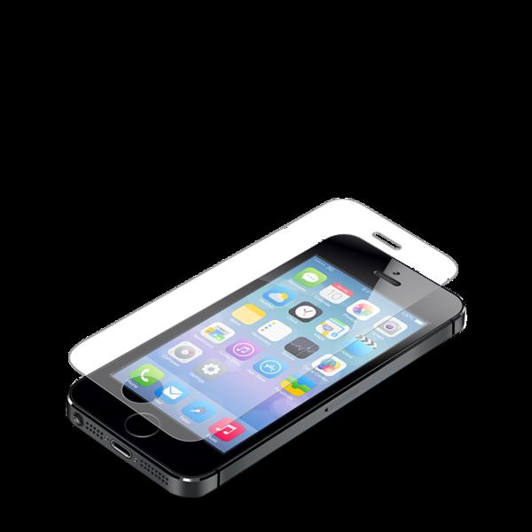 Lamina de cristal Zagg InvisibleShield Glass para iPhone SE / 5s
