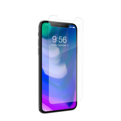 Lamina de cristal Zagg InvisibleShield Glass+ para iPhone XS/X