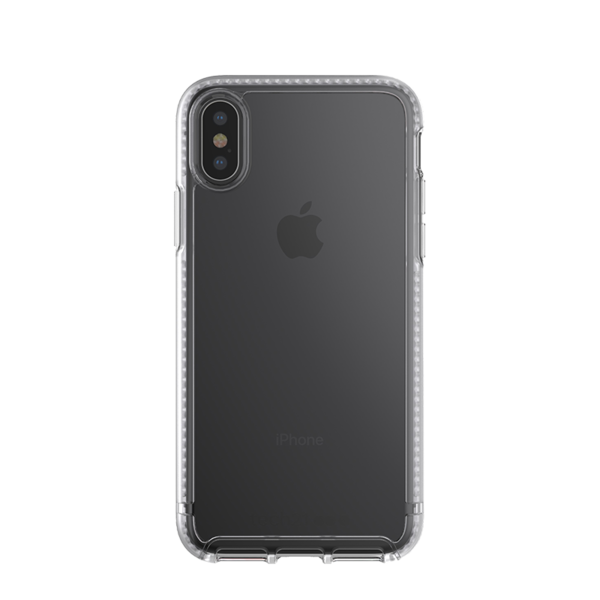 Funda dura Tech21 Pure Clear para iPhone X