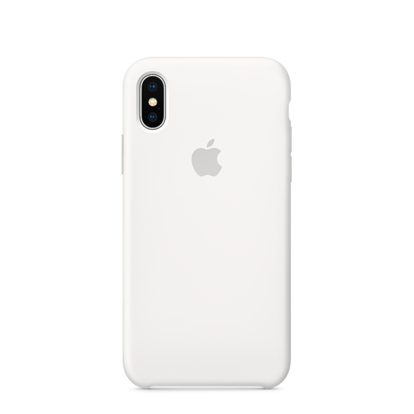 ed7d5efaf7c Funda de silicona Apple para iPhone X - El principal Apple Premium ...