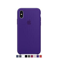 Funda de silicona Apple para iPhone X