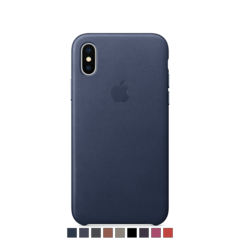 Funda de cuero Apple para iPhone X