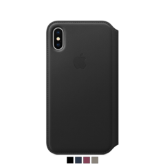 Funda folio Apple para iPhone X