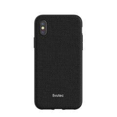Funda dura con soporte para auto Evutec Aergo para iPhone X