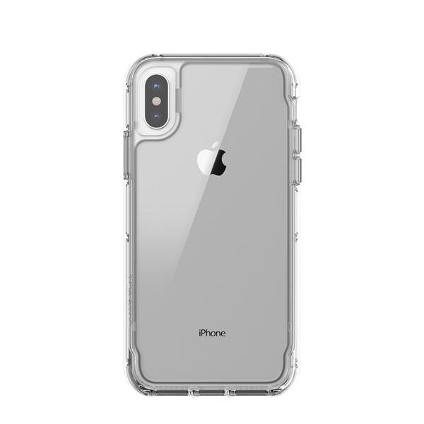 Funda dura Griffin Survivor Clear para iPhone X