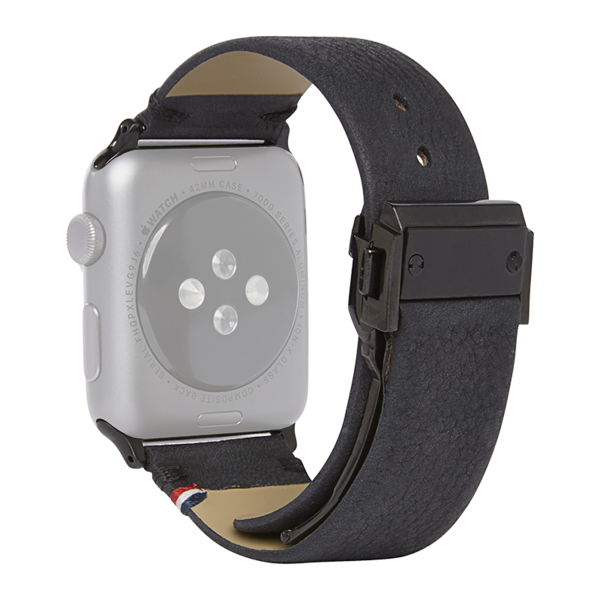 Correa de cuero Decoded para Apple Watch