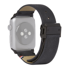 Correa de cuero Decoded para Apple Watch