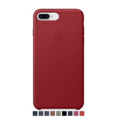 Funda de cuero Apple para iPhone 8 Plus