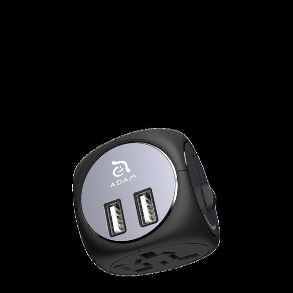 Adaptador para viajes con cargador USB Adam Elements Omnia TA502