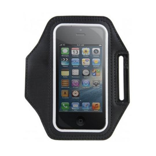 Brazalete deportivo Gecko Sports para iPhone 6 / 6s / 7 / 8 Negro
