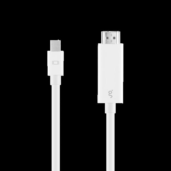Cable Mini DisplayPort a HDMI 4K Gmode de 1.8 m