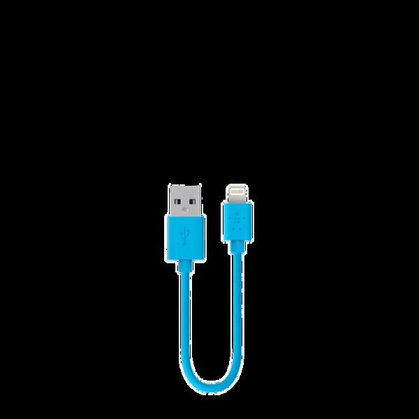 Cable Lightning a USB Belkin de 15 cm Azul