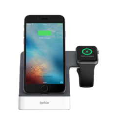 Base Dock Belkin PowerHouse para iPhone y Apple Watch