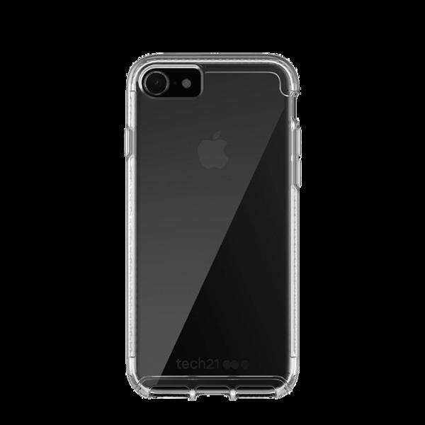 detailed look f6c39 210be Funda dura Tech21 Pure Clear para iPhone 8