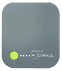 Batería externa 4.000 mAh Lightning Techlink Gris