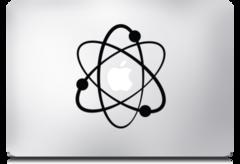 Lámina para MacBook Pro MacDecals diseño Atom