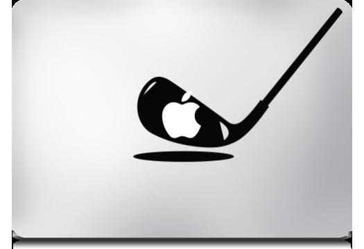 Lámina para MacBook Pro MacDecals diseño Golf