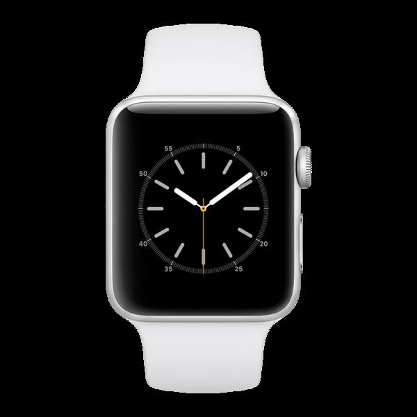 5dcbddc0c02 ... Apple watchs3 42mm alusvr rubberwhite ...