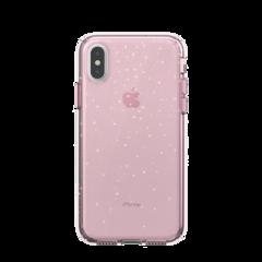 Funda Speck Presidio Clear + Glitter para iPhone XS / X