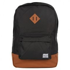 "Mochila Heritage para MacBook Pro hasta 13"" Herschel Poly Black/ Tan"