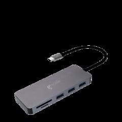 Hub USB-C a USB con lector de tarjetas Gmode