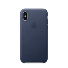 Funda de cuero Apple para iPhone XS