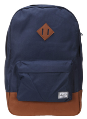 "Mochila Heritage para MacBook Pro hasta 13"" Herschel Poly Navy/ Tan"