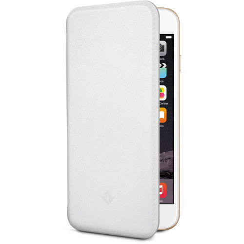 Funda folio para iPhone 6/6s Surface Pad Twelve South Blanco