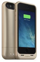 Funda con Batería iPhone 5/5s/SE Juice Pack Air Mophie Dorada