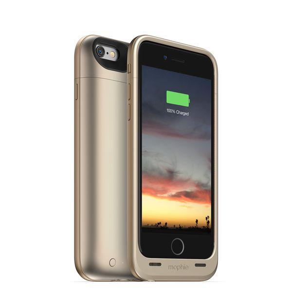 Funda con Batería para iPhone 6 Juice Pack Air Dorada 2.750 mAh