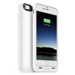 Funda con Batería para iPhone 6 Plus Juice Pack Plus Blanca 2.600 mAh