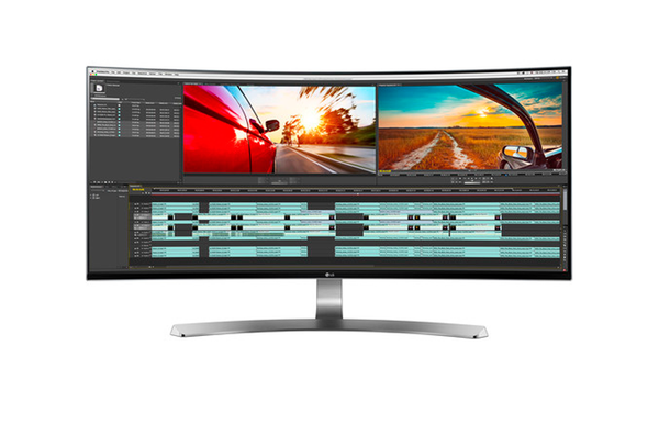 """Monitor 34"""" LG Ultrawide Thunderbolt Curved"""
