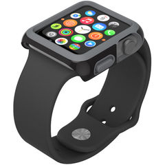 Protector Candyshell para Apple Watch 38mm Speck Negro /Gris