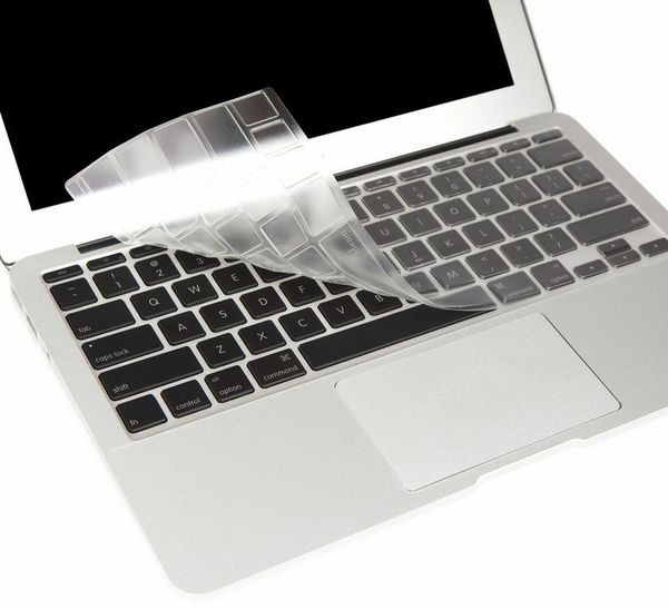 "Protector para teclado de MacBook Air 11"" transparente Moshi"