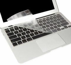 "Protector para teclado de MacBook Air 11"" transparente Moshi"